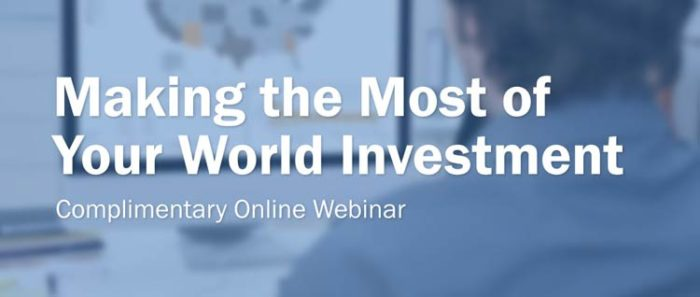 ReportsNow: Making the Most of Your World Investment | View the Webinar