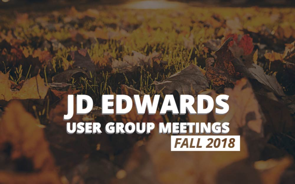 user group meetings