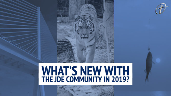 What's New with the JDE Community in 2019?