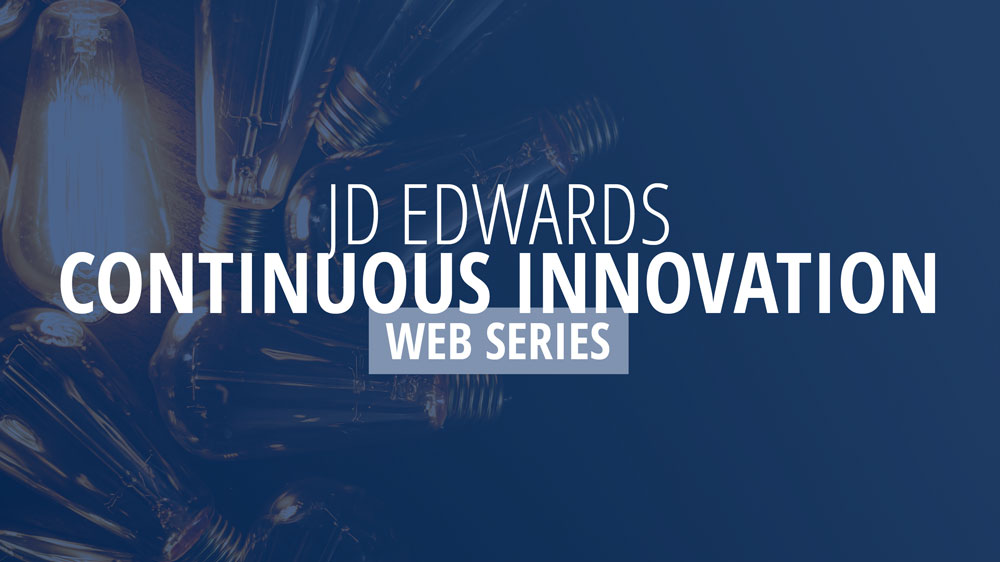 JDE Continuous Innovation